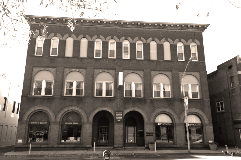 Salisbury Downtown - Sepia