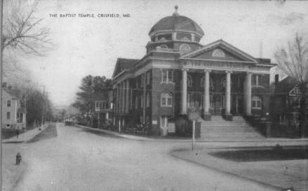 Baptist Temple - Crisfield