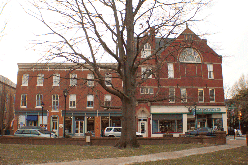 Old Surgical Hospital and Odd Fellows Hall - Easton