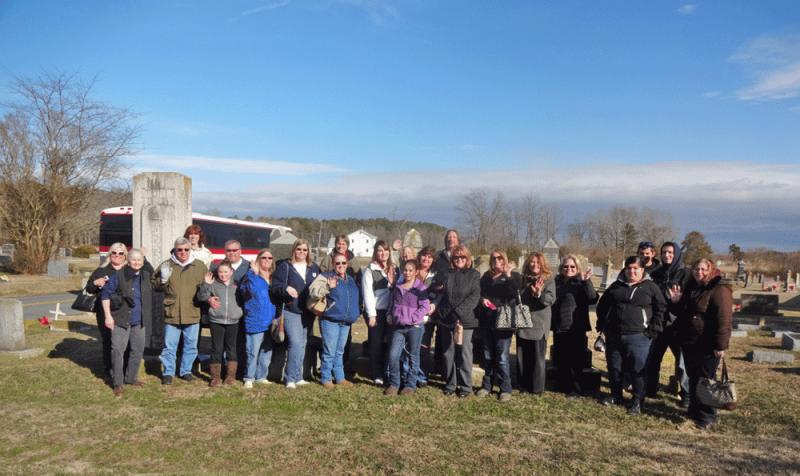 Somerset Bus Tour group 2014.
