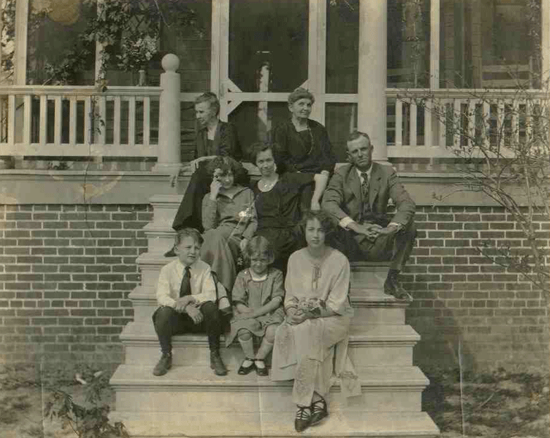 Vance Miles and Family