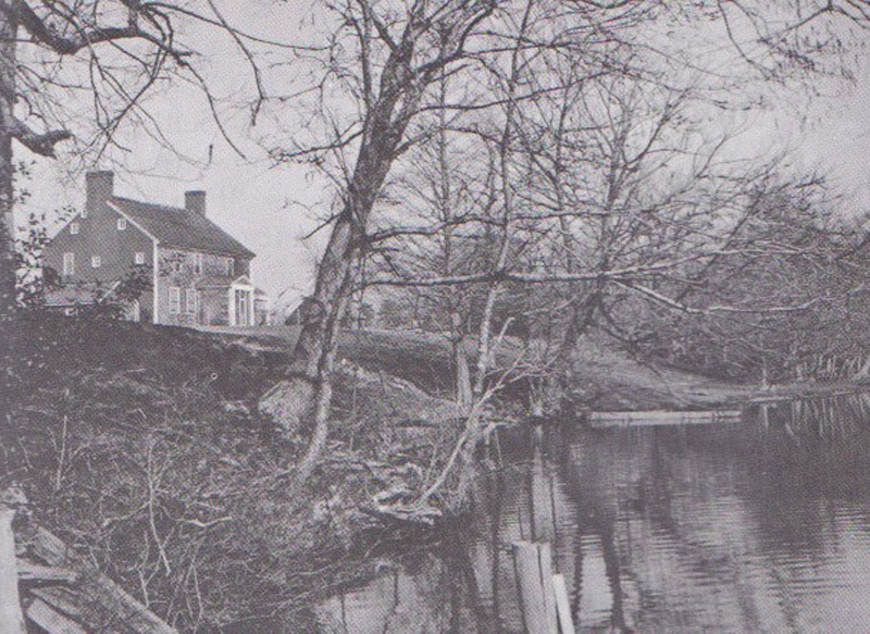 Cellar House on the Pocomoke River