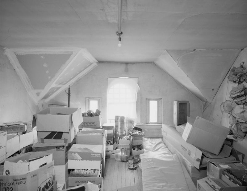 The Denton Jail Attic