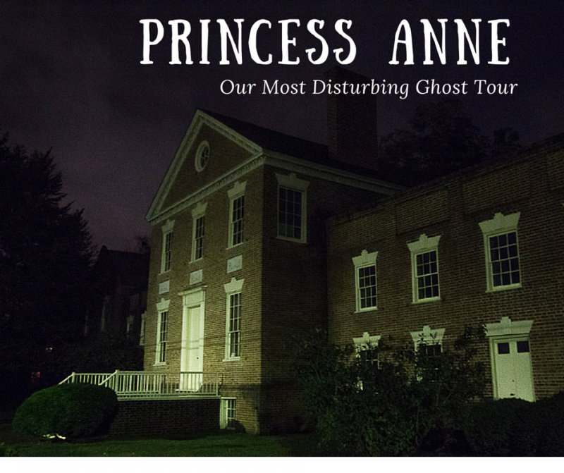The Princess Anne Ghost Walk