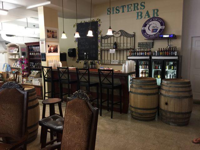 Sister's Wine Bar in Berlin MD